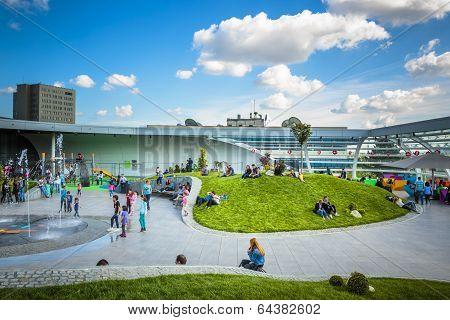Promenada Mall Recreation Area, Bucharest, Romania