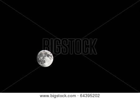 Full Moon At Perigee In Sardinia