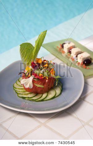 Healthy Organic Vegetarian Meal
