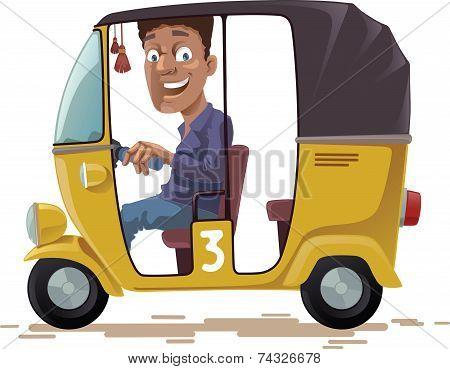 Asian Rickshaw