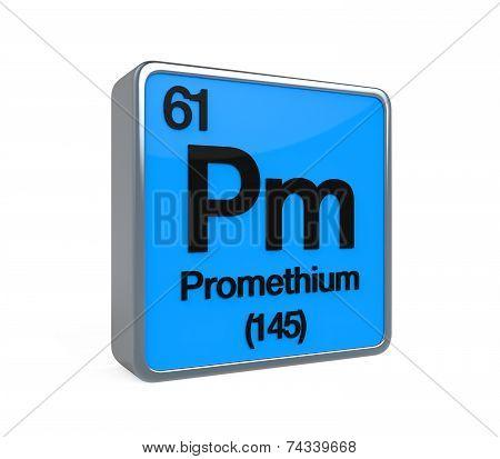 Promethium Element Periodic Table