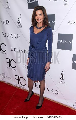 .LOS ANGELES - OCT 20:  Janice Dickinson at the Creativ PR Collections at Fashion Week at Mondrian on October 20, 2014 in West Hollywood, CA