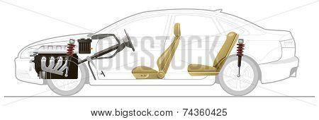 Cut-away  Car
