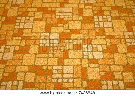 Linoleum Tile Background