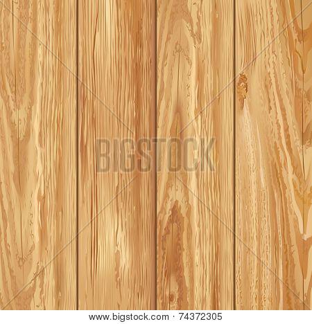 Realistic wooden texture. Vector illustration.