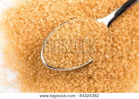Brown Sugar In A Spoon
