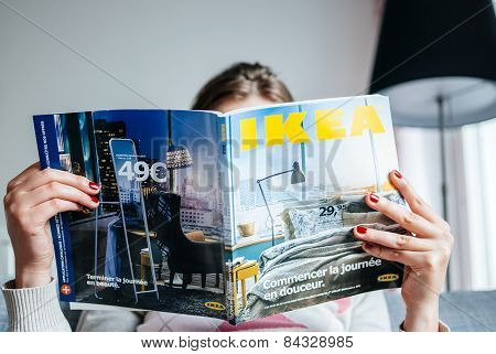 Reading Ikea Catalogue