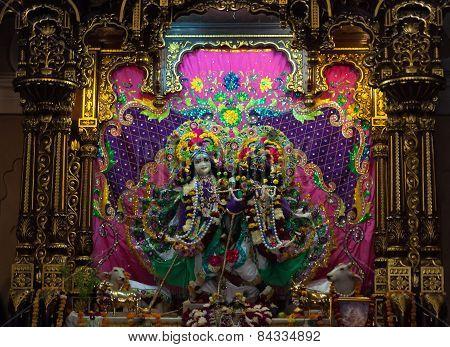 Deities In Sri Krishna-balaram Temple