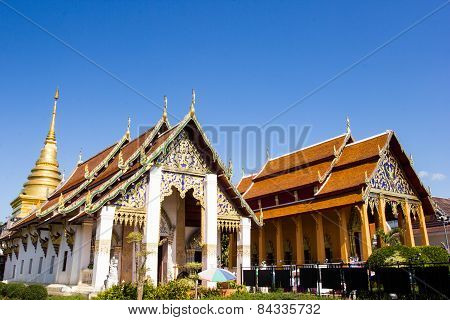 Buddhist Temple Of Chang Kum, Nan Province, Thailand