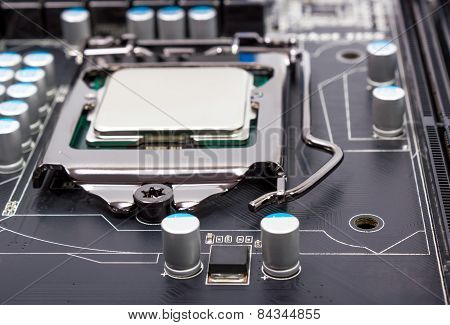 Cpu Socket On Motherboard