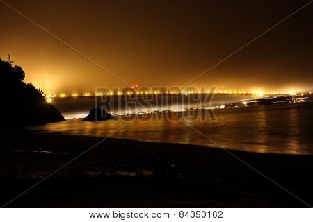 Foggy Night In San Francisco