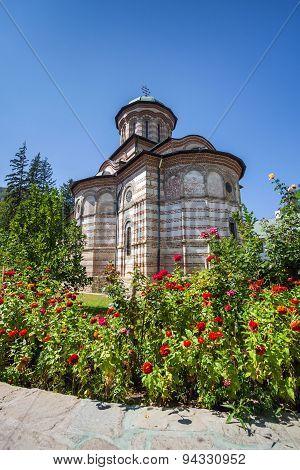 Cozia Monastery Church On A Sunny Summer Day