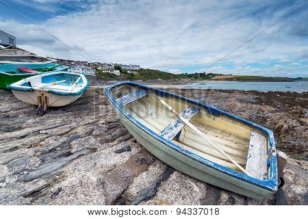 Boats At Portscatho