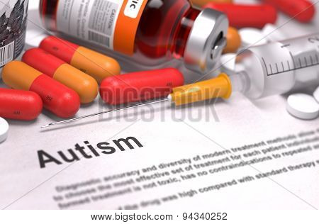 Autism Diagnosis. Medical Concept.