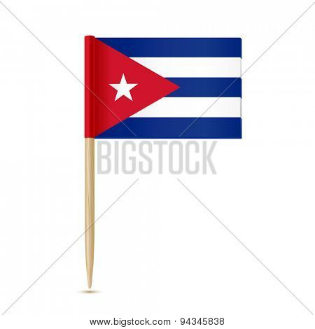 Cuba flag toothpick 10eps