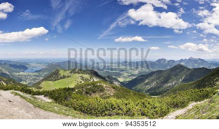 Panorama Jaegerkamp Bavaria Alps