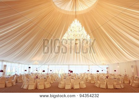 Beautifully Decorated Wedding Restaurant
