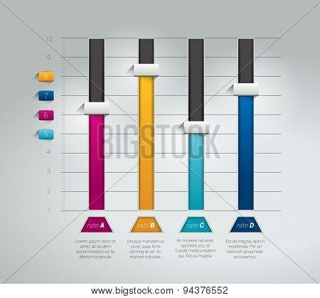 3D Chart, Graph.