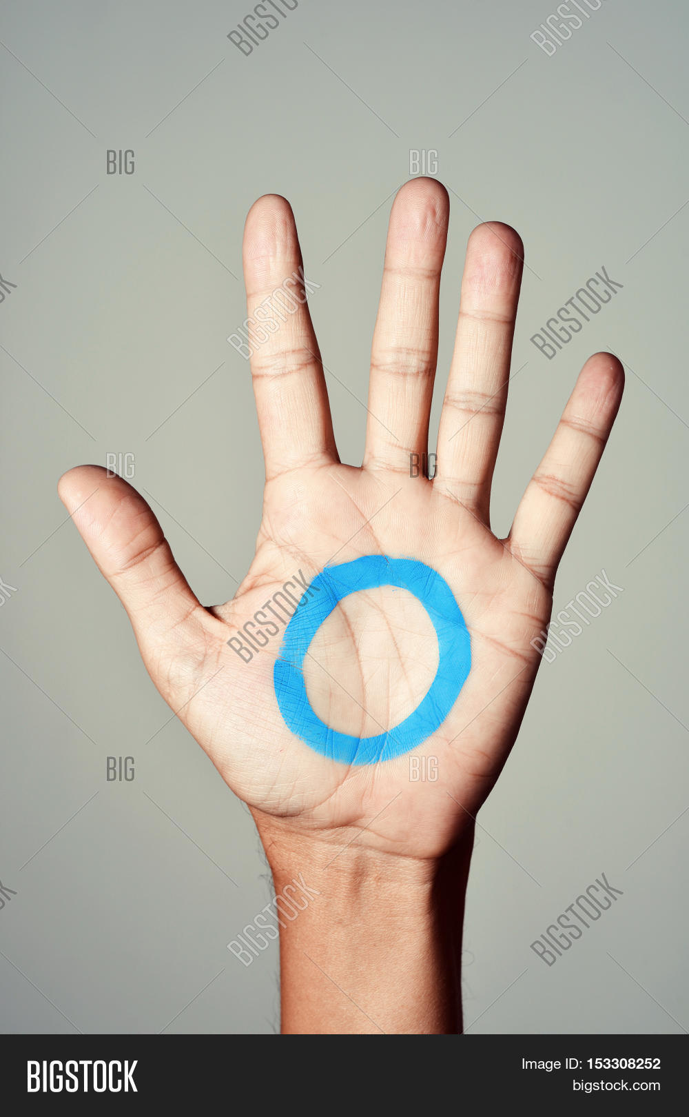 Blue Circle Symbol Image Photo Free Trial Bigstock