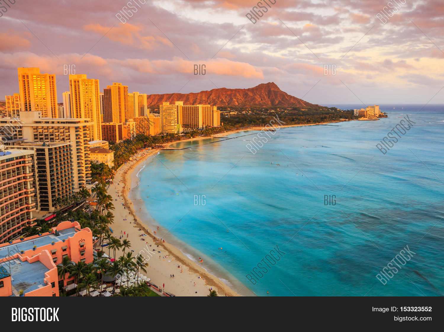 Honolulu Hawaii Image Photo Free Trial Bigstock