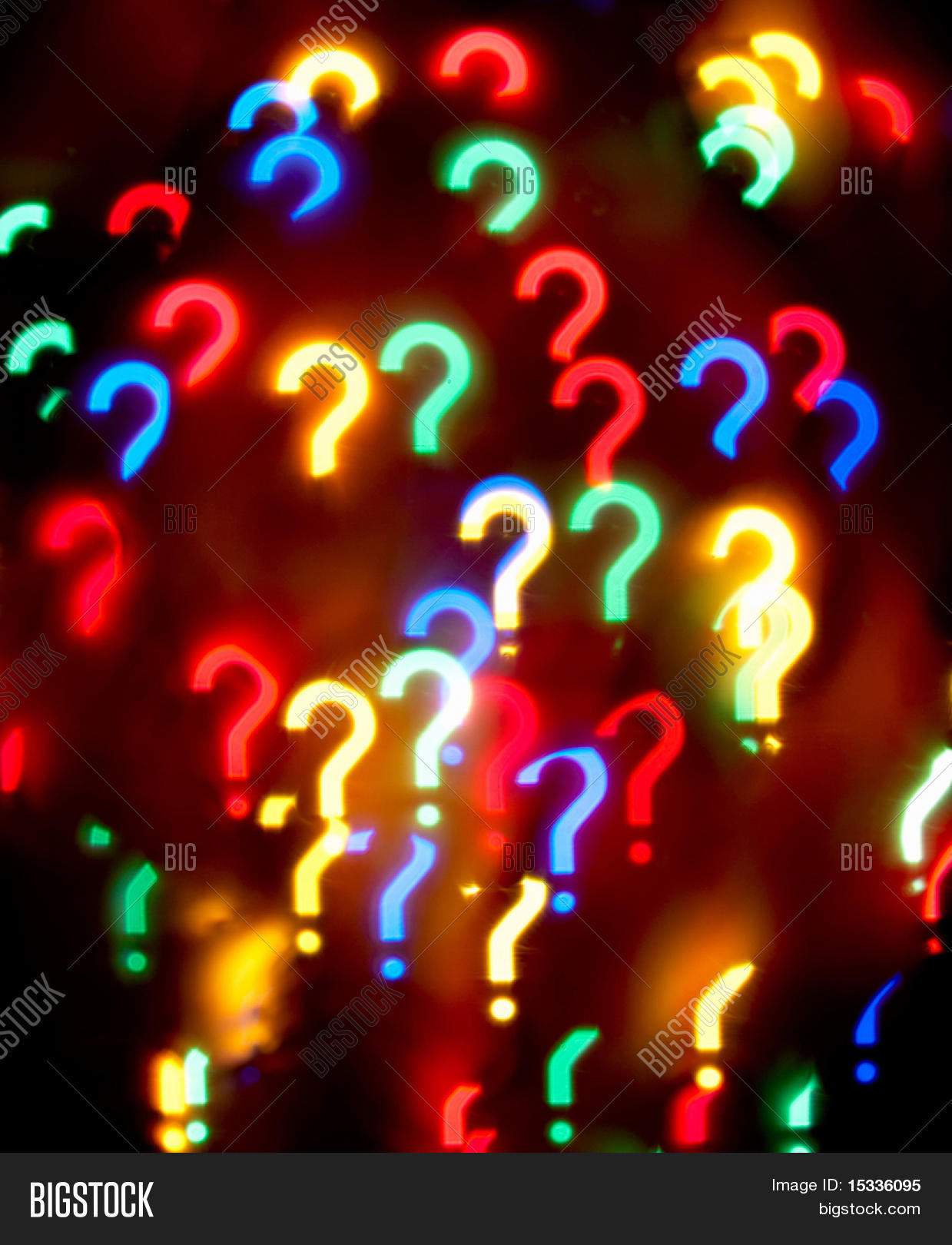 Abstract Question Mark Image Photo Free Trial Bigstock Christmas Lights On A T Background