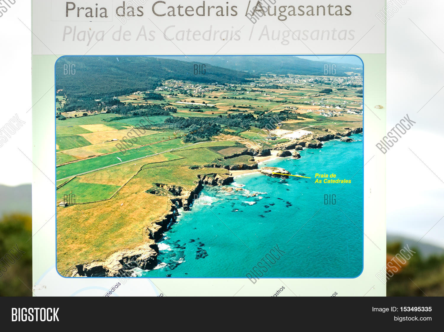 Map Of North Spain Coast.Coruna Spain May 29 Image Photo Free Trial Bigstock