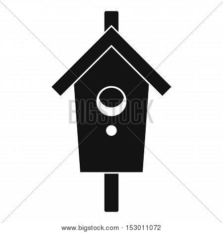 Birdhouse icon. Simple illustration of birdhouse vector icon for web