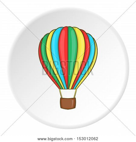 Baloon icon. Flat illustration of baloon vector icon for web