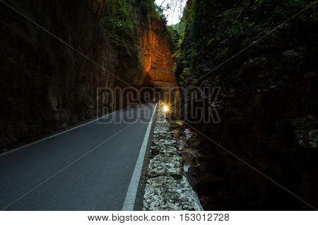 Strada Della Forra