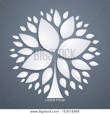 Abstract petals background, abstract illustration design,business concept illustration design.