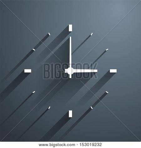 WatchTime, Vector Illustration, business concept illustration design.