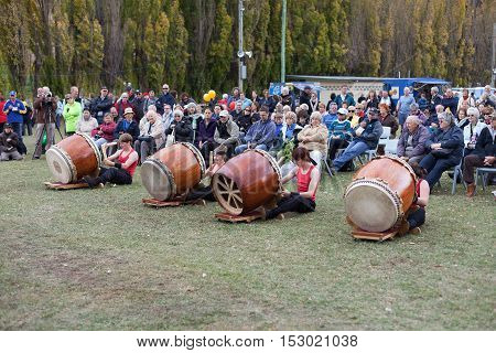 Kumi-daiko Drumming Performance