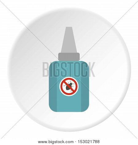 Insect spray icon. Flat illustration of insect spray vector icon for web