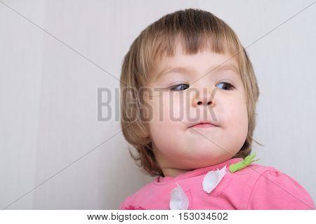 Artistic Child Portrait Imagining Face