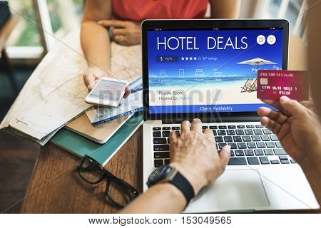 Hotel Deal Accommodation Lodge Motel Inn Concept