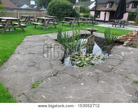 English Pub Beer-garden
