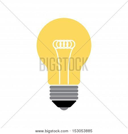 vector flat design lightbulb. Lightbulb icon. Lightbulb image. Lightbulb vector. Lightbulb illustration. Lightbulb symbol. Lightbulb abstract
