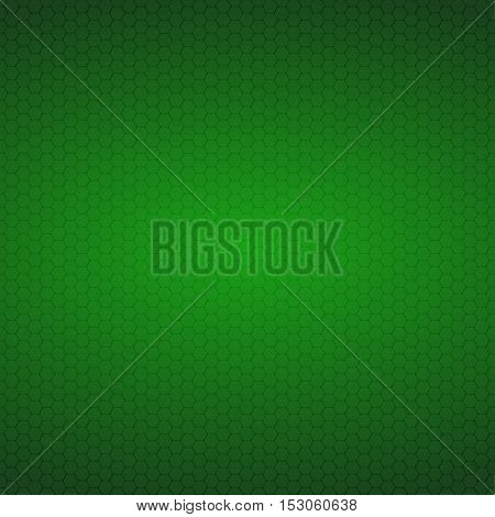 Mosaic Tile Honeycomb Vector Background. Comb Halftone Fone. Green Background. Vector illustration for Web Design.