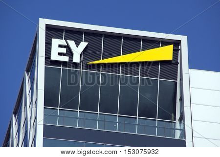 Ernst And Young Headquarters In Amsterdam