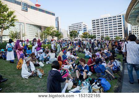 NAGOYAJAPAN- August 07, 2016: World cosplay summit 2016 in Nagoya Japan.