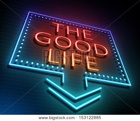 The Good Life Concept.
