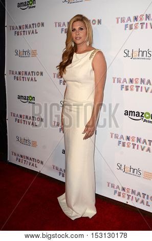 LOS ANGELES - OCT 22:  Candis Cayne at the TransNation Miss Queen USA Pageant at Ace Hotel on October 22, 2016 in Los Angeles, CA