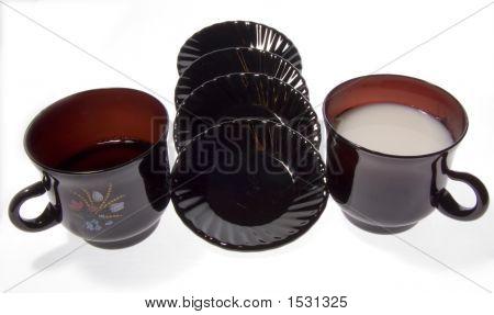 Black Cup Milk