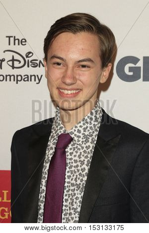 LOS ANGELES - OCT 21:  Hayden Byerly at the 2016 GLSEN Respect Awards at Beverly Wilshire Hotel on October 21, 2016 in Beverly Hills, CA