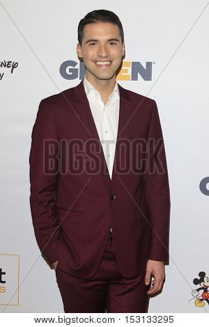 LOS ANGELES - OCT 21:  Raymond Braun at the 2016 GLSEN Respect Awards at Beverly Wilshire Hotel on October 21, 2016 in Beverly Hills, CA