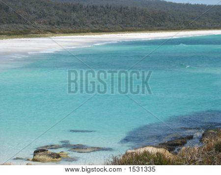 Clear Aqua Waters