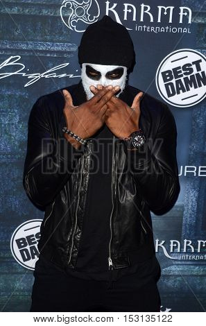 LOS ANGELES - OCT 22:  Tyson Beckford at the 2016 Maxim Halloween Party at Shrine Auditorium on October 22, 2016 in Los Angeles, CA