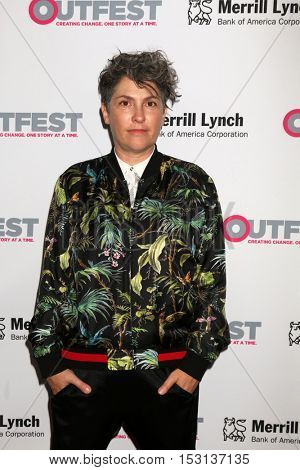 LOS ANGELES - OCT 23:  Jill Soloway at the 2016 Outfest Legacy Awards at Vibiana on October 23, 2016 in Los Angeles, CA