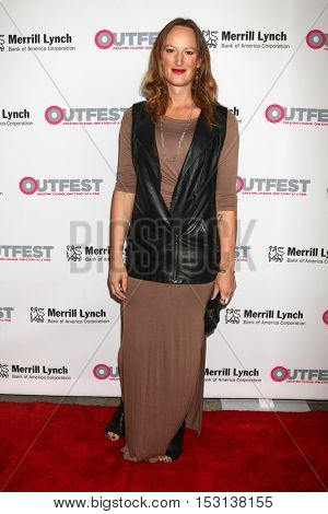 LOS ANGELES - OCT 23:  Jen Richards at the 2016 Outfest Legacy Awards at Vibiana on October 23, 2016 in Los Angeles, CA