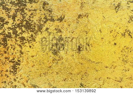 Cement texture or cement background from yellow cement wall for design with copy space for text or image.
